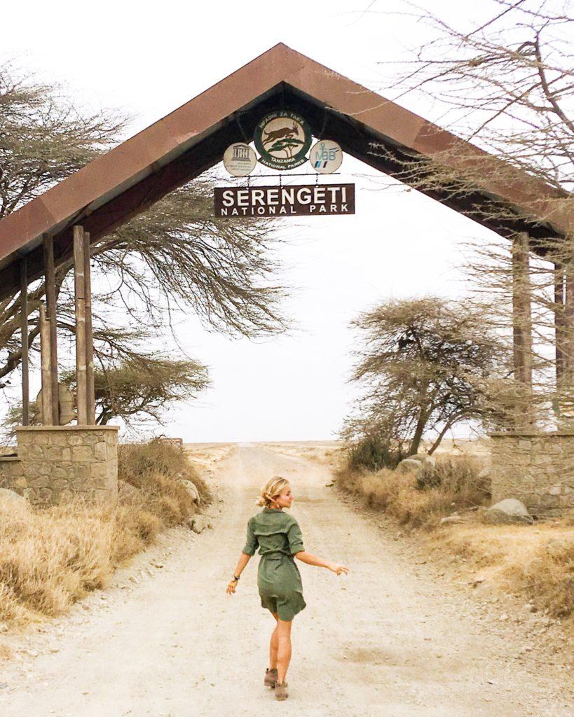 Safari at Serengeti